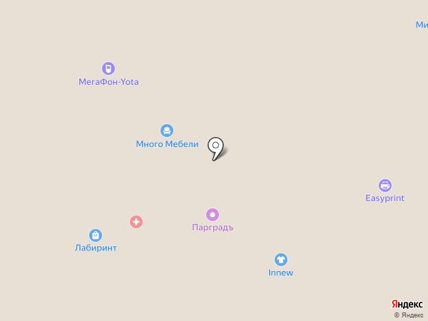 Аманат на карте