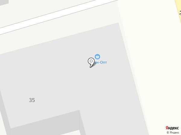 Моритон на карте