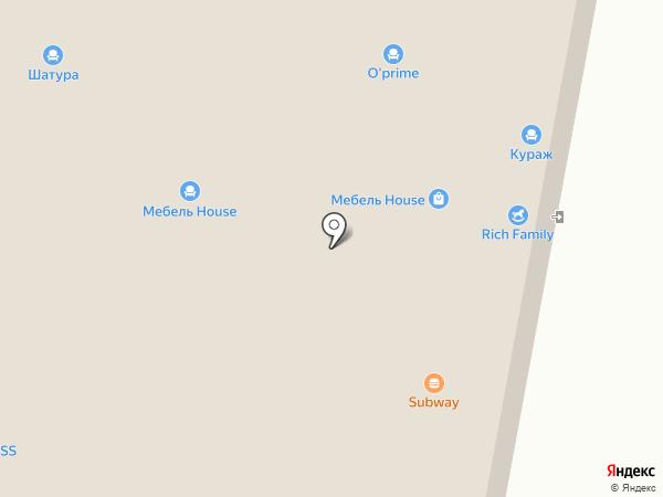 МегаДом на карте