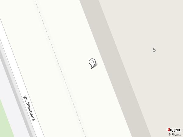 Продуктовый магазин на ул. Микояна на карте