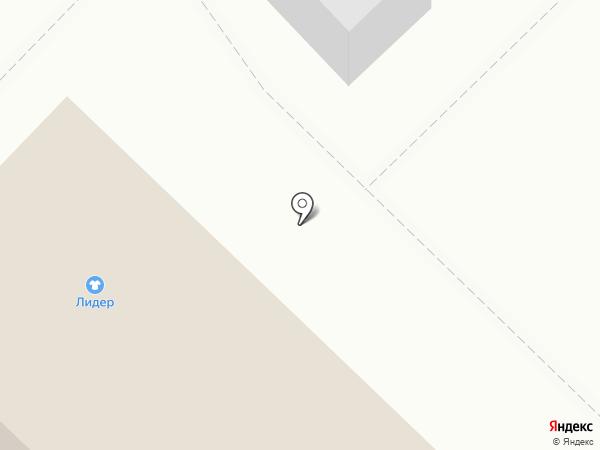 Сеть продуктовых магазинов и киосков на карте