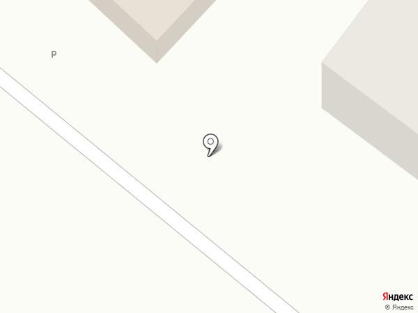 Янтарный на карте