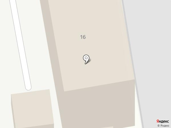 Теплая автостоянка на карте