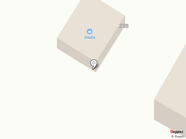 Эльба на карте