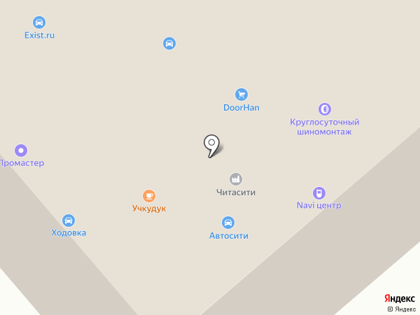 Содействие на карте
