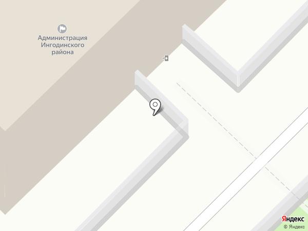 Отдел по делам ГО и ЧС Ингодинского района на карте