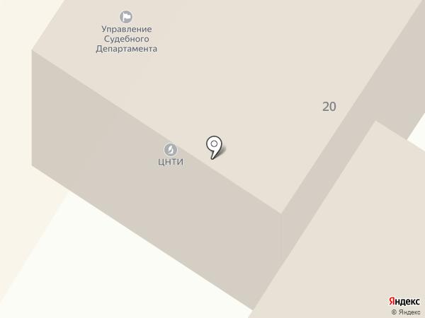 Управление судебного департамента в Забайкальском крае на карте