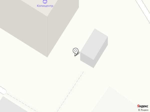 Копицентр на Петрозаводской на карте
