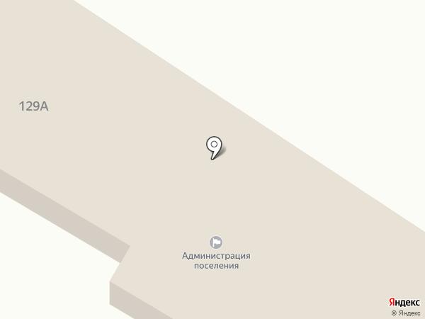 Администрация городоского поселения Атамановское на карте