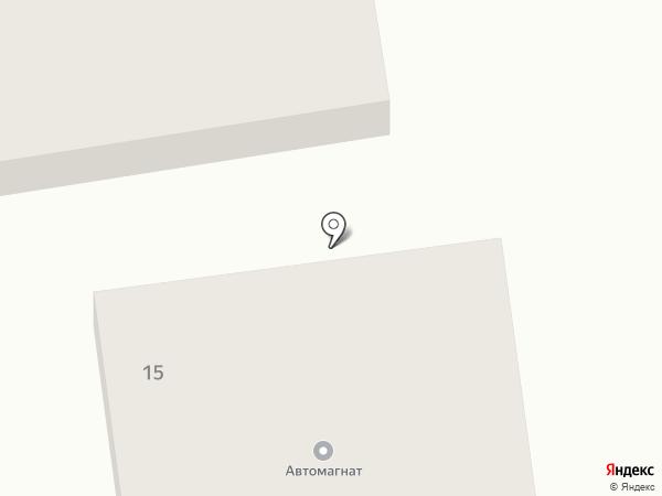 Автомагнат на карте