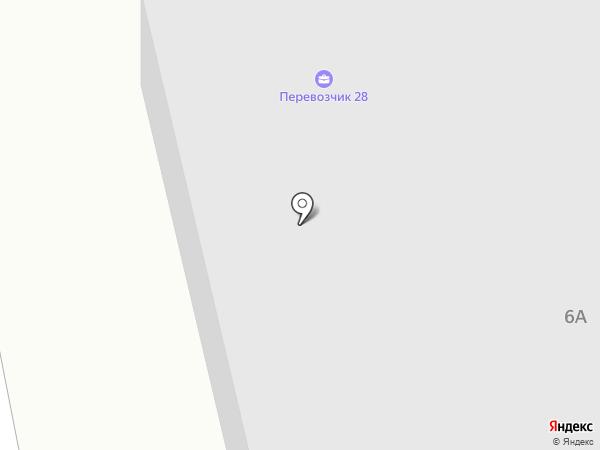 Столица запчастей на карте