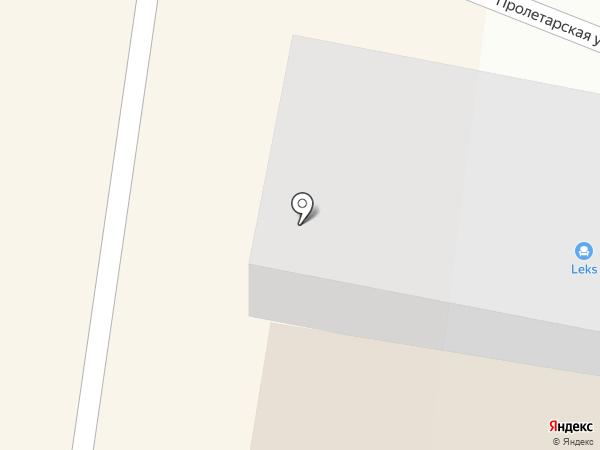Leks на карте