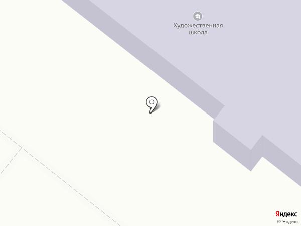 Художественная школа, МОУ на карте