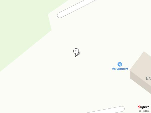 Амурпром на карте