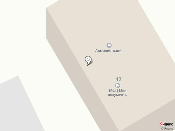 Территориальный отдел пос. Белогорье на карте