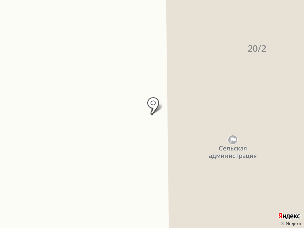 Администрация с. Табага на карте