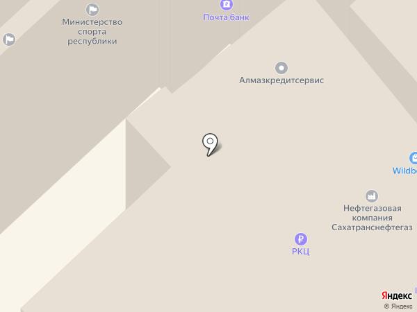 Контрольно-счетная палата г. Якутска на карте