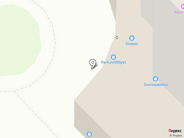 Виртуальный мир на карте
