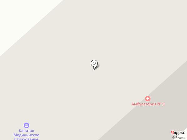 Медицинский центр г. Якутска на карте