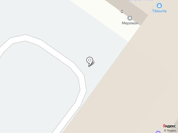 Актерм-ДВ на карте