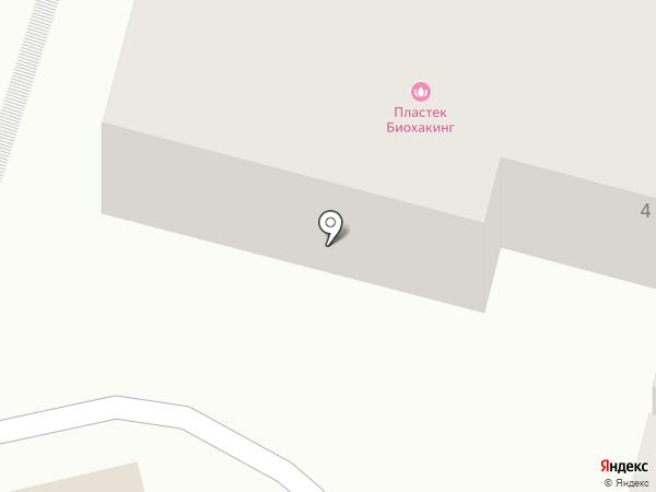 Шнурок на карте