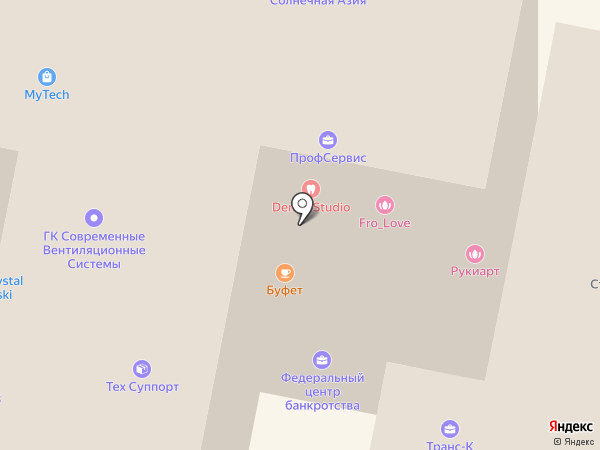 Интермет на карте