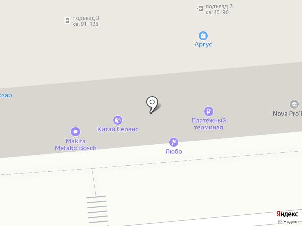 Двериссимо на карте