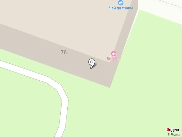 Тиффани на карте