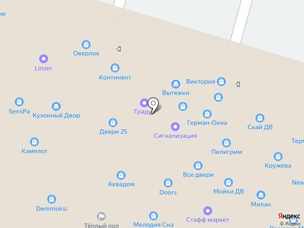 Тандра на карте
