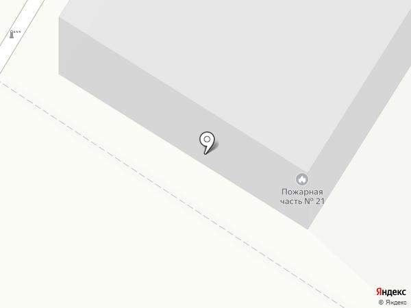 Пожарная часть №21 МЧС России по Приморскому краю на карте