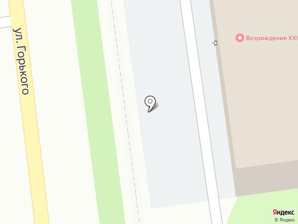 Возрождение-ХХI на карте