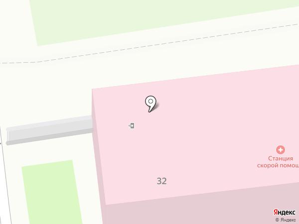 Станция скорой медицинской помощи г. Уссурийска на карте