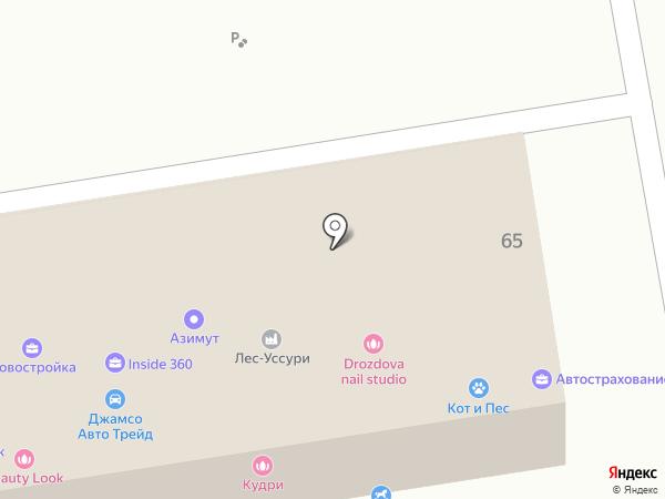 Студия шугаринга на карте