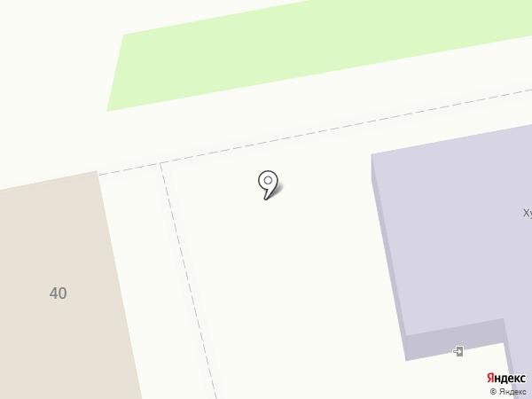 Детская художественная школа на карте