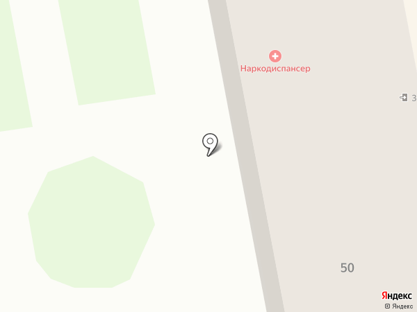 Психиатрический диспансер на карте