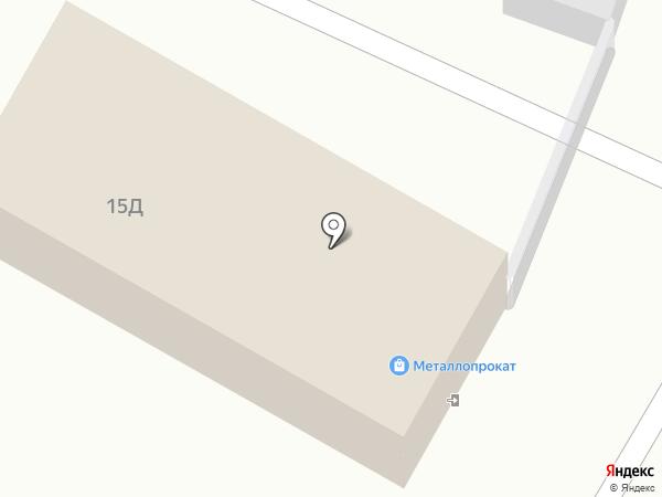 Компания по продаже металлопроката на карте