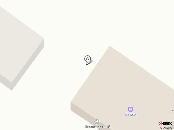 Миницен на карте