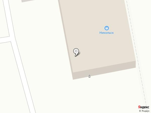 Никольск на карте