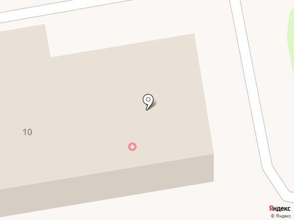 Узловая больница на станции Уссурийск, НУЗ на карте