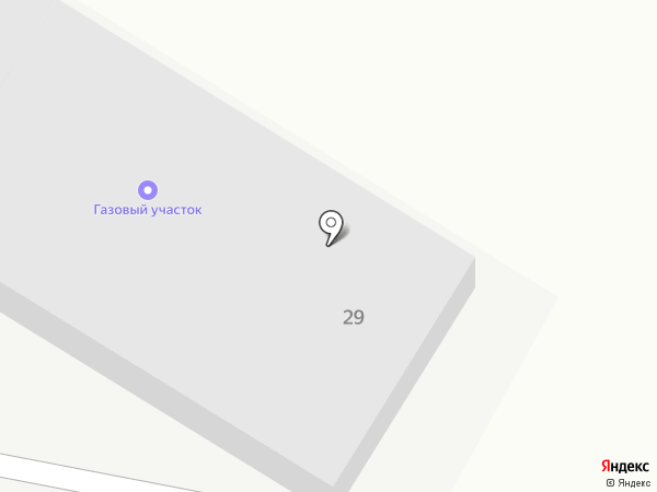 Газовый участок на карте
