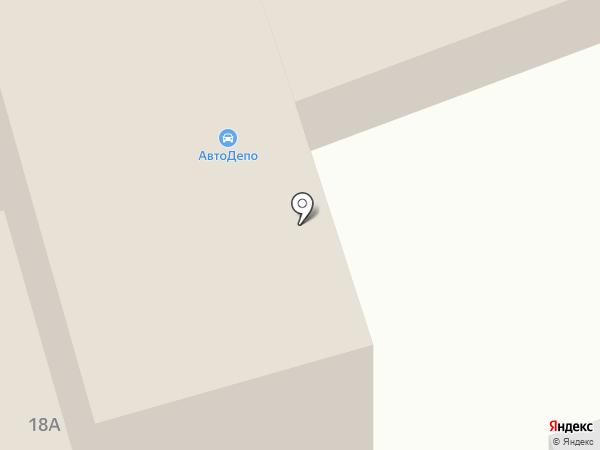 Аком на карте
