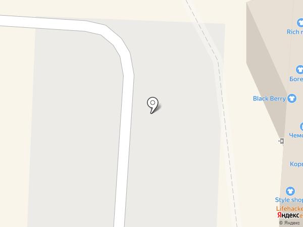 Lina на карте