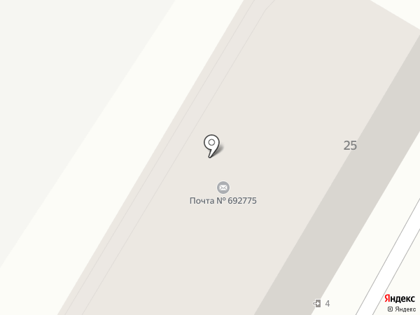 Отделение почтовой связи №75 на карте
