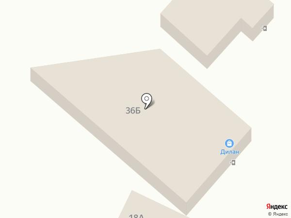 Чикара на карте