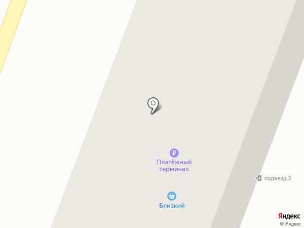 Васкина на карте