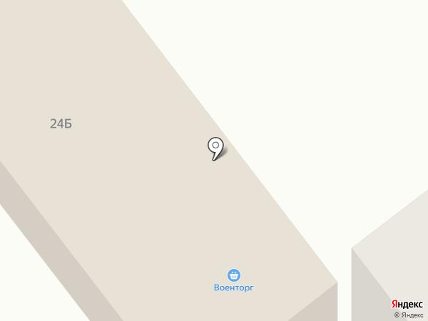 Военторг на карте