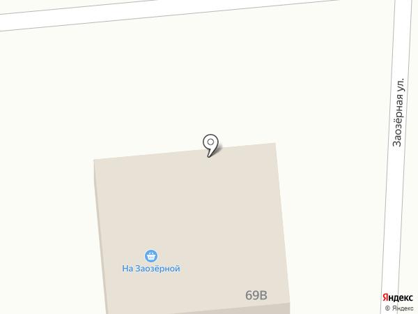 На Заозерной на карте