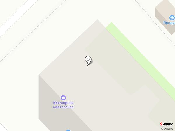 Лучик на карте