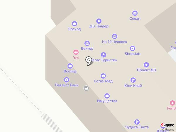 ДВ-Тендер на карте