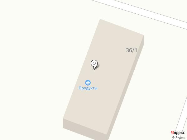 У Дачный на карте